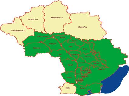 Romania - Ukraine - Moldova